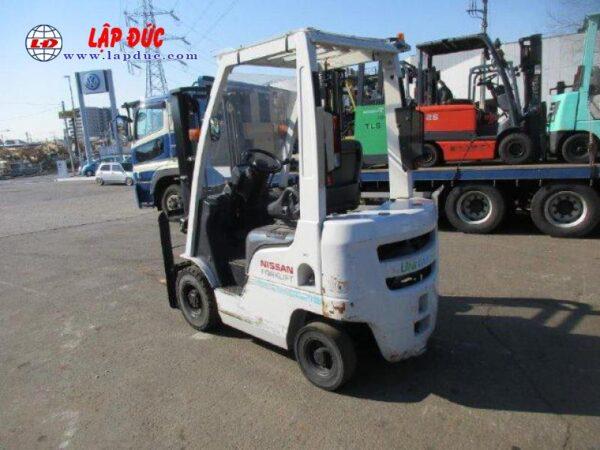 Xe nâng xăng NISSAN 1 tấn EBT-NP1F1 # 740879 giá rẻ