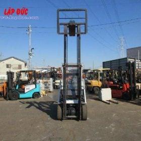 Xe nâng máy xăng NISSAN 1 tấn EBT-NP1F1 # 740879 giá rẻ