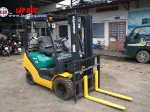 Xe nâng xăng 1.5 tấn KOMATSU FG15LC20 # 659313 giá rẻ