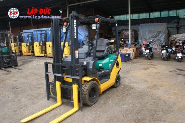 Xe nâng xăng KOMATSU 1.5 tấn FG15LC20 # 659313 giá rẻ