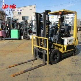 Xe nâng xăng cũ 1.5 tấn TCM FHG15N7 # 10K00318 giá rẻ