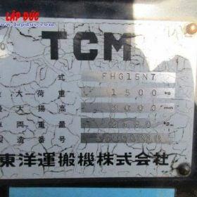 Xe nâng TCM máy xăng 1.5 tấn FHG15N7 # 10K00318 giá rẻ