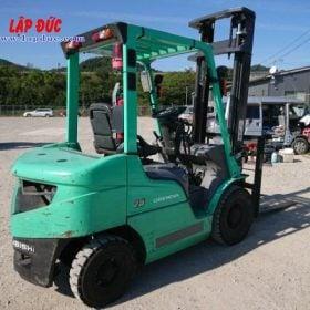 Xe nâng dầu cũ 2.5 tấn MITSUBISHI FD25D # 74900 giá rẻ