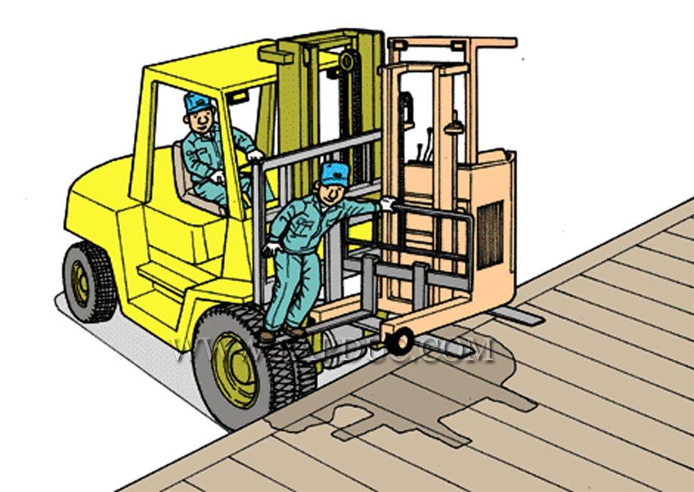 30 tình huống tai nạn và kỹ năng an toàn khi vận hành xe nâng – Phần 2 49