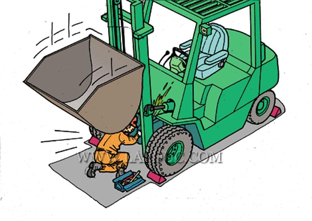 30 tình huống tai nạn và kỹ năng an toàn khi vận hành xe nâng – Phần 2 54