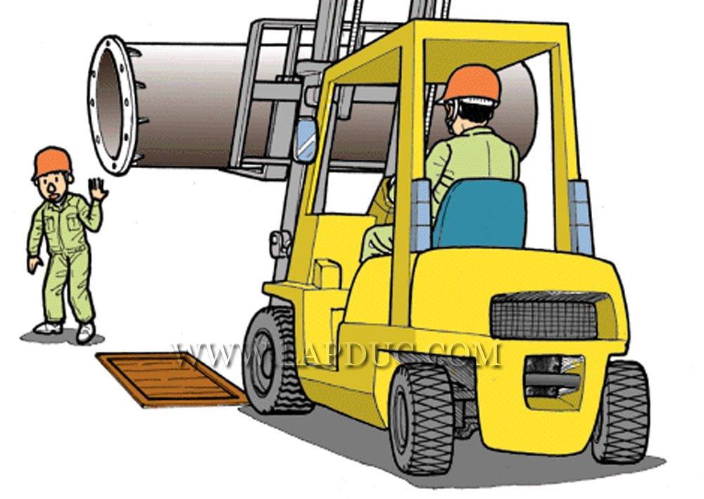 30 tình huống tai nạn và kỹ năng an toàn khi vận hành xe nâng – Phần 2 59