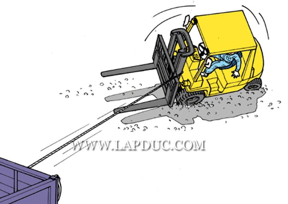 30 tình huống tai nạn và kỹ năng an toàn khi vận hành xe nâng – Phần 3 42