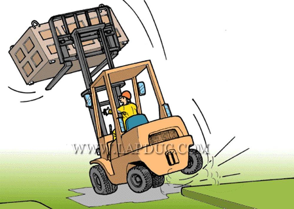 30 tình huống tai nạn và kỹ năng an toàn khi vận hành xe nâng – Phần 3 44