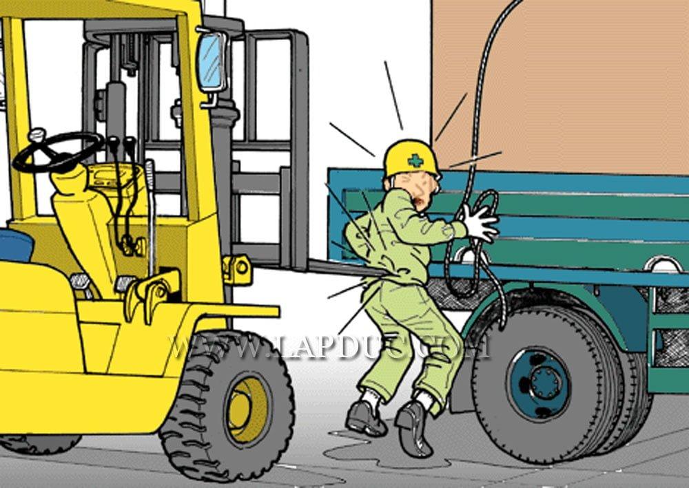 30 tình huống tai nạn và kỹ năng an toàn khi vận hành xe nâng – Phần 3 46