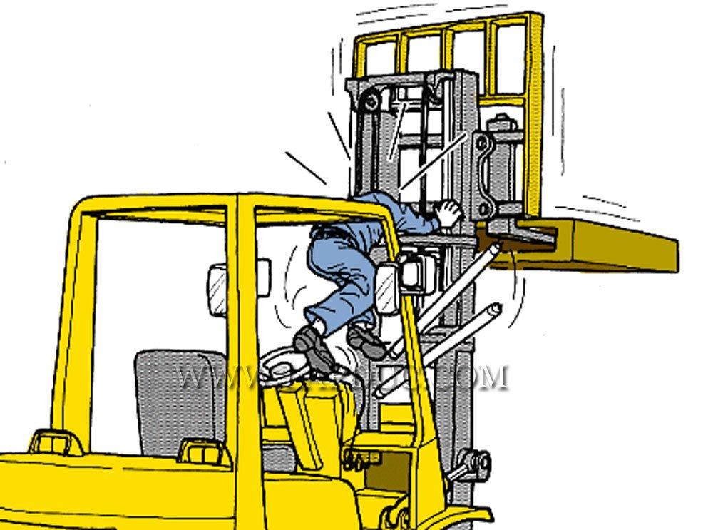 30 tình huống tai nạn và kỹ năng an toàn khi vận hành xe nâng – Phần 3 58