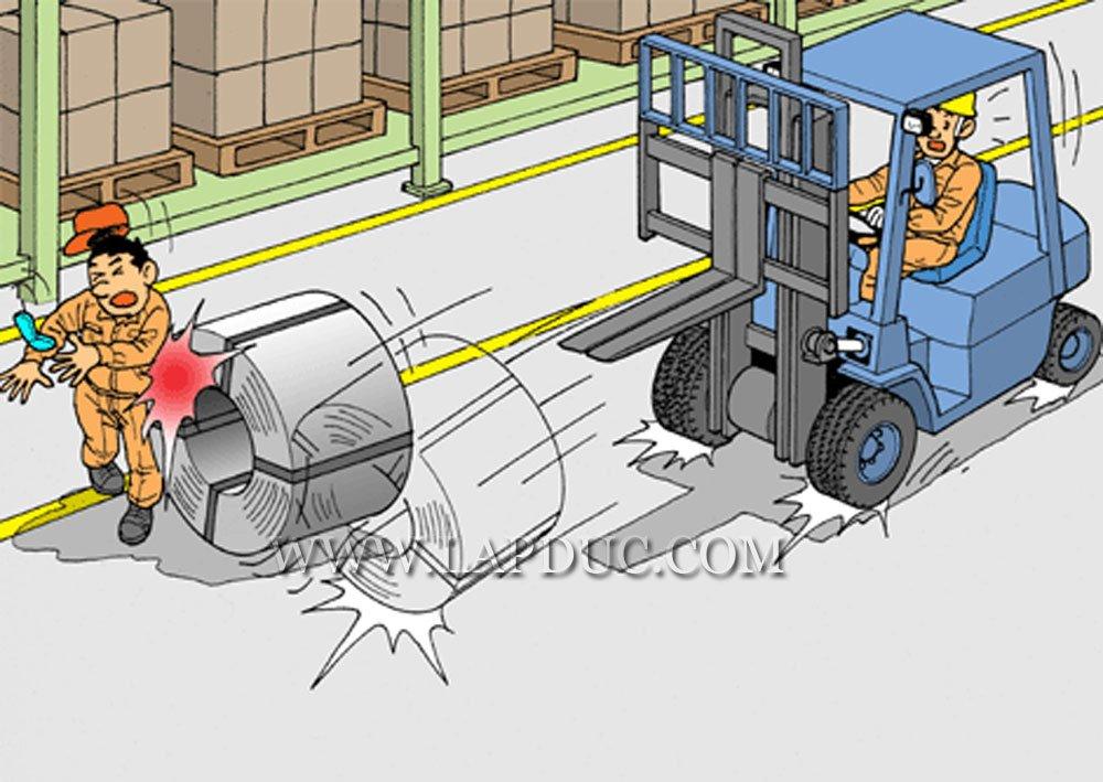30 tình huống tai nạn và kỹ năng an toàn khi vận hành xe nâng 58
