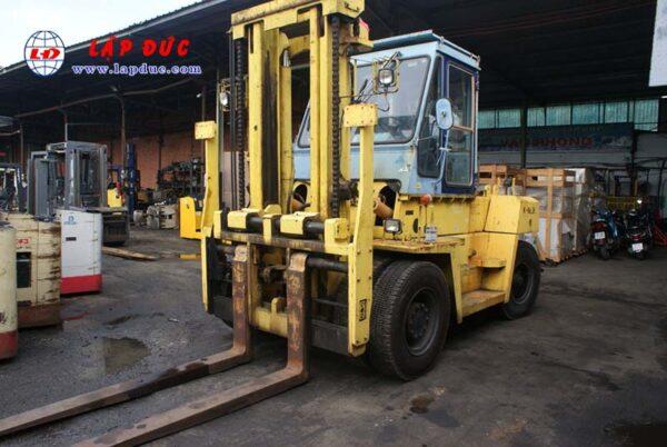 Xe nâng dầu cũ 11.5 tấn KOMATSU FD115-5 # 03019 giá rẻ