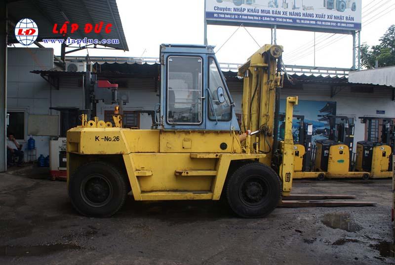Xe Nâng Dầu 11.5 tấn KOMATSU FD115-5 # 03019 3