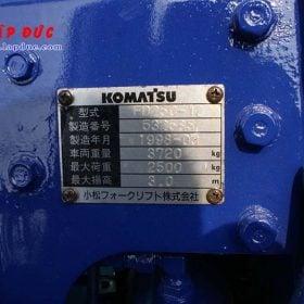 Xe nâng 2.5 tấn dầu KOMATSU FD25C-12 # 532585 giá rẻ