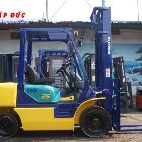Xe nâng KOMATSU máy dầu 2.5 tấn FD25C-12 # 532585 giá rẻ