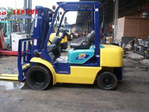 Xe nâng dầu cũ 2.5 tấn KOMATSU FD25T-14 # 557334 giá rẻ