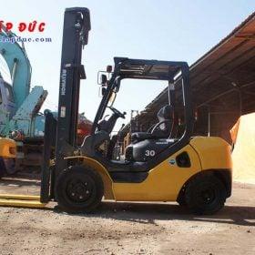 Xe nâng dầu cũ 3 tấn KOMATSU FD30C-17 # 322470 giá rẻ
