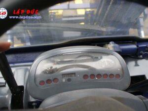 Xe nâng cũ động cơ dầu KOMATSU 4 tấn FD40W-7 # 102963 giá rẻ