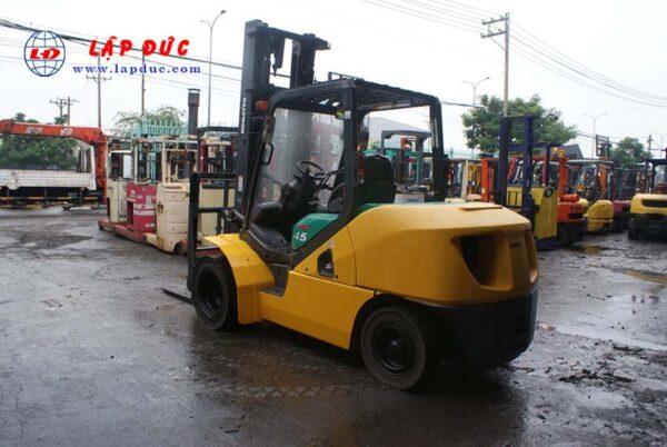 Xe nâng dầu 4.5 tấn KOMATSU FD45T-10 # 135323 giá rẻ
