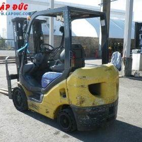 Xe nâng xăng cũ KOMATSU 2.5 tấn FG25NT-15 giá rẻ