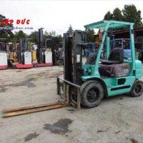 Xe nâng dầu cũ 2 tấn MITSUBISHI FD20 # 06167 giá rẻ