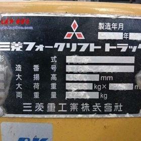 Xe nâng MITSUBISHI máy dầu 2.5 tấn FD25 # 20440 giá rẻ