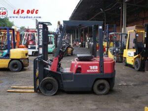 Xe nâng xăng cũ 1 tấn NISSAN NJ01A10# 117591 giá rẻ