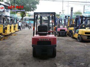 Xe nâng xăng 1 tấn NISSAN NJ01A10# 117591 giá rẻ
