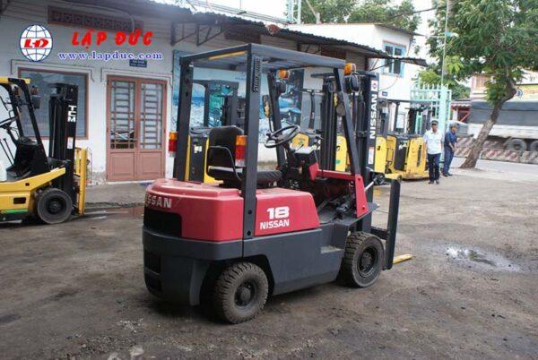 Xe nâng xăng NISSAN 1 tấn NJ01A10# 117591 giá rẻ