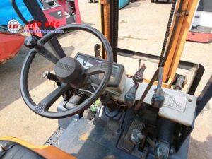 Xe nâng máy dầu cũ TOYOTA 1.5 tấn 5FD15 #43598 giá rẻ
