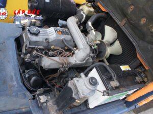 Xe nâng 1.5 tấn dầu TOYOTA 5FD15 #43598 giá rẻ