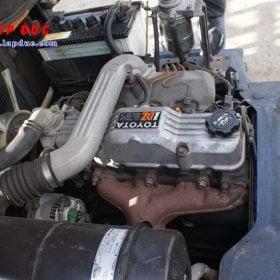Xe nâng 1.5 tấn máy dầu TOYOTA 5FD15 #43598 giá rẻ