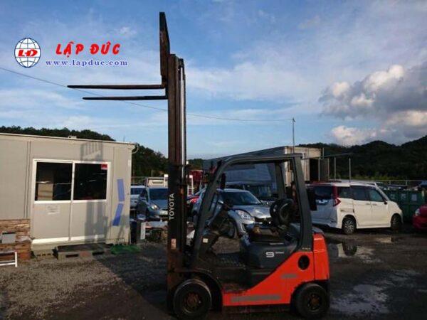 Xe Nâng động cơ Dầu diesel 1 tấn TOYOTA 8FDL10 # 31666