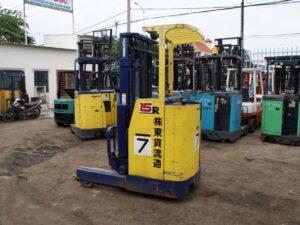Xe nâng điện đứng lái 1.5 tấn KOMATSU FB15RS-10