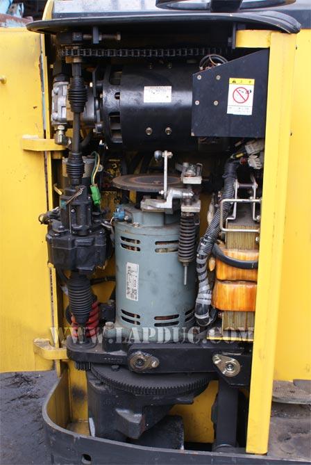 Xe nâng điện đứng lái cũ 1.8 tấn KOMATSU FB18RS-12 giá rẻ