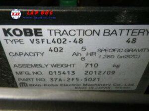 Xe nâng điện ngồi lái 1.5 tấn KOMATSU FB15-12 4