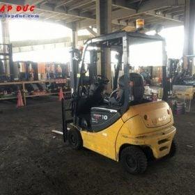 Xe nâng điện ngồi lái KOMATSU 1 tấn FB10-12