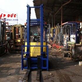 Xe nâng điện ngồi lái cũ KOMATSU 1.3 tấn FB13M-3 giá rẻ