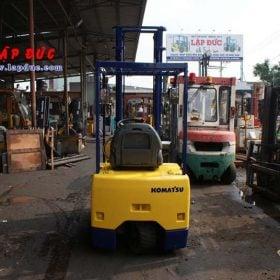 Xe nâng điện ngồi lái KOMATSU 1.3 tấn FB13M-3 giá rẻ