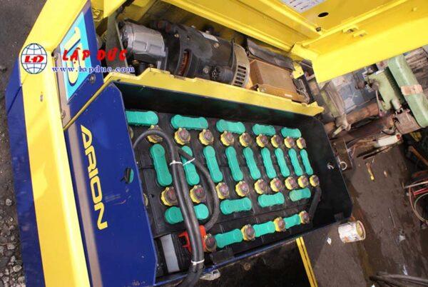 Xe nâng điện cũ KOMATSU ngồi lái 1.3 tấn FB13M-3 giá rẻ