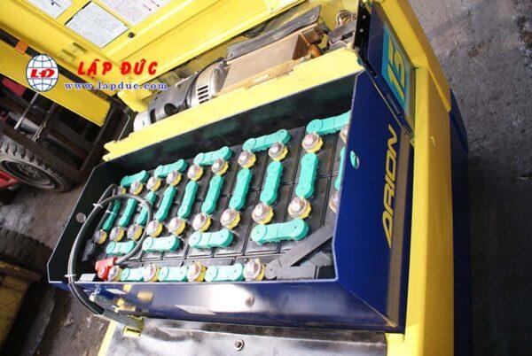 Xe nâng điện ngồi lái 1.3 tấn KOMATSU FB13M-3 # 12638
