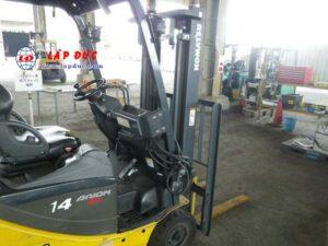 Xe nâng điện KOMATSU ngồi lái 1.4 tấn FB14-12 giá rẻ