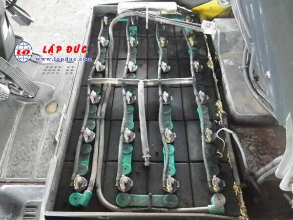 Xe nâng điện ngồi lái cũ KOMATSU 1.4 tấn FB14-12 giá rẻ