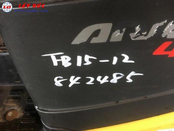 Xe nâng điện cũ KOMATSU ngồi lái 1.5 tấn FB15-12