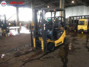 Xe nâng điện ngồi lái KOMATSU 1.5 tấn FB15-12