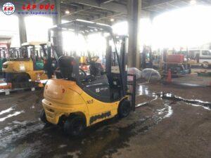 Xe nâng điện KOMATSU ngồi lái 1.5 tấn FB15-12