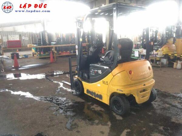 Xe nâng điện ngồi lái 1.5 tấn KOMATSU FB15-12