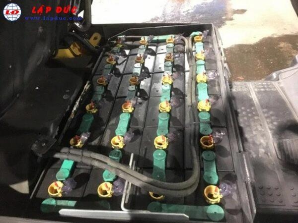 Xe nâng điện KOMATSU 1.5 tấn ngồi lái FB15-12