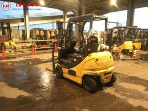 Xe nâng điện ngồi lái 1.5 tấn KOMATSU FB15-12 8