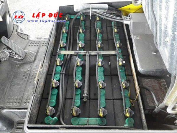 Xe nâng điện ngồi lái 1.5 tấn KOMATSU FB15-12 # 830801